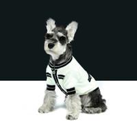 Basit Desen Evcil Kazak Bahar Güz Kişilik Güzel Pet Coats Klasik Yumuşak Touch Bulldog Teddy Ceketler