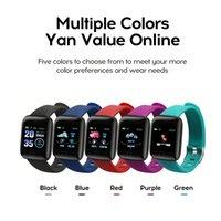 Fitness Tracker ID116 PLUS Smart-Armband mit Herzfrequenz-Smart-Armband-Blutdruck-Armband PK ID115 PLUS 116 PLUS F0 für Fitbit MI