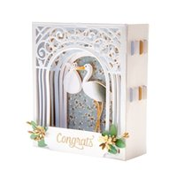3D Vignettes Metal Cutting DiesGrand Arch 3D Card Etched Die...