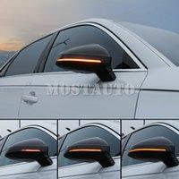 LED Dinamik Yan Ayna Dönüş Sinyali Işığı Sıralı Gösterge için Audi A4 B9 S4 A5 S5 2017-2019 2adet