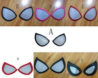 Black Style Spiderman Eye Glasses Spider Lenses1111111