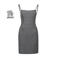 2019 일시 중단 된 인쇄 드레스 섹시 백리스 슬릿 쉬폰 비치 스커트 여성 의류 캐주얼 여자 드레스 Splicing 도매 하이 허리 0328