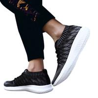 صيف الرياضة SAGACE احذية رجالية عادية الاحذية مقاومة للاهتراء عدم الانزلاق أحذية الترا لايت المنسوجة منصة 2020 X0102