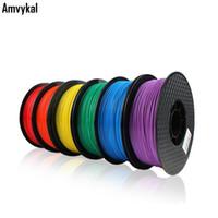 جودة عالية طابعة 3d خيوط الجيش التحرير الشعبية الشائحة 1.75 ملليمتر 1 كيلوجرام متعددة الألوان بلاء 3D مواد الطباعة ل 3d الأقلام الشحن السريع