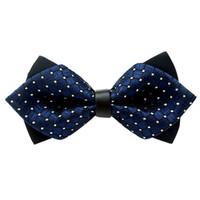 Feste Erwachsene Unisex Klassische Mode Hochzeit Fest Fancy Adjustable Bowtie Krawatte Fliege Mode Männerkrawatten