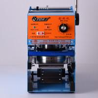 Manuale di Coppa di tenuta della macchina per la coppa 13 centimetri Bubble Machine tè 220V Cup sigillante per caffè / tè macchina bolla di tenuta