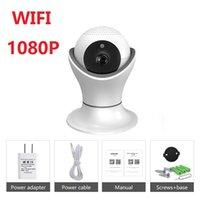 IP Camera 1080P Wifi sicurezza domestica audio bidirezionale Wireless Mini Pet macchina fotografica d'inseguimento auto di visione notturna del CCTV WiFi Baby Monitor