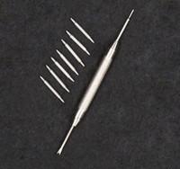 Ücretsiz hediye aracı 2 adet pin 1.5 MM kalınlığı dia paslanmaz çelik bahar bar İzle onarım kayış bilezik kemer saatçi değişim aksesuar parçaları