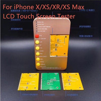 Display LCD / OLED Touch Screen Digitador Tester Quadro Máquina Ferramentas Para iPhone X / XS / XR / XS Max Placa de Teste lcd
