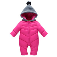 good quality 2019 Winter Baby Romper Baby Clothes Warm Coat ...