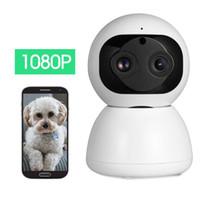 1080р бинокулярный камера Беспроводная сеть WiFi мобильный телефон удаленный HD ночного видения для дома домашний монитор монитор младенца