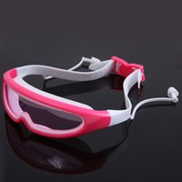 Holiday Silicone Swimming Goggles Eyewear Waterproof Wide Vi...