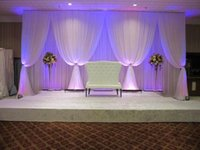 ramadan decorations 3*6m (10ft*20ft) ice silk white Wedding ...