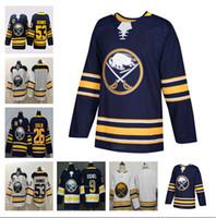 Discount Buffalo Sabres 50th Hockey Jersey 9 Jack Eichel 53 Jeff Skinner 26 Rasmus Dahlin 23 Sam Reinhart Femininos completa costurado 2020