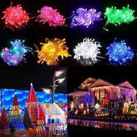dizeleri Led Noel 100 LED dizeleri Dekorasyon Işık 110V 220V için Parti Düğün Tatil aydınlatma led çılgın satış 10M / PCS ışıkları