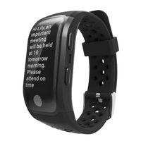 S908 Höhenmesser oder GPS-Armband Herzfrequenzmesser Sport Fitness Tracker Smart Watch IP68 wasserdichte Armbanduhr für iPhone und Android
