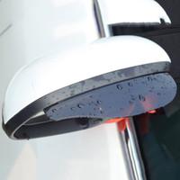 2 unids universal coche retrovisor espejo lluvia cejas auto coche vista posterior llover blind snow guardher sol visera sombra protector