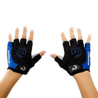 Men Sporting Half Finger Anti Slip Pad Home Gloves The Road Men Casaul Gloves 3 Colors