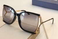 Óculos de sol do designer de luxo para mulheres 2592 Estilo de verão quadrado de moda popular com as abelhas Top Quality UV Lens vêm com o caso