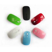 Candy color ultra thin wireless mouse and receiver 2. 4G USB ...