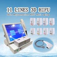 3D HIFU machines à ultrasons à haute intensité focalisée HIFU resserrement du corps de thérapie corps shaper minceur machine de beauté hifu
