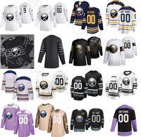 Sur mesure des Sabres de Buffalo Hockey 22 Johan Larsson Jersey Hommes 28 Zemgus Girgensons 21 Kyle Okposo 28 Marco Scandella 37 Casey Mittelstadt
