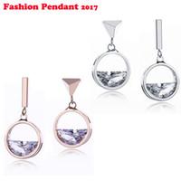 82eb96d8a7f8 Moda coreana temperamento corto geométrico femenino Pendientes de circón  pendientes simples pendientes de plata pequeño envío