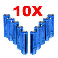 10PACK Qualität nachladbare Batterie 18650 3000mAh 3,7 V BRC Li-Ionen-Batterie 18650 3000mAh für Taschenlampe Laser