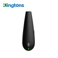 Kingtons Siyah Mamba BLK Kuru Ot Buharlaştırıcı ile 1600 mAh Dahili Pil Kuru Ot Kalem Seramik 0.65 ml Fırın Hacmi ile E çiğ 100% Orijinal