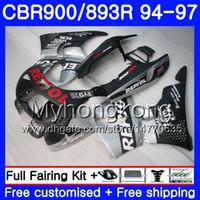 Kit para HONDA CBR900RR CBR 893RR 1994 1995 1996 1997 Cuerpo 260HM.29 mate Repsol caliente CBR 893 CBR900 RR CBR893 RR CBR893RR 94 95 96 97 Carenado