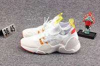 2019 Nueva Huarache E.D.G.E TXT QS de los zapatos corrientes de las mujeres de orillo como Triple Negro Blanco zapatillas de deporte Deportes HUARACHE Gripp Acrónimo Zapatos