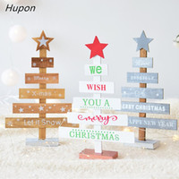 Snowflake Star 28cm Creative Wooden Mini Christmas Tree Deco...