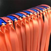 10 шт. / лот мощная рогатка плоская резиновая лента 250 мм натуральный латекс резиновая лента для наружной охоты катапульты