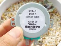 Moteur synchrone Nidec MT8-3, jauge de niveau du Japon 100V, table tournante de table, moteur de machine de mahjong automatique