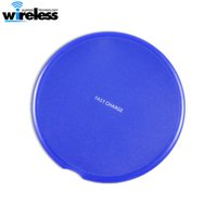Round Qi Fast Wireless Charger for 11 Pro Max X 8 Plus Wirel...