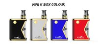 100% Original Kangvape Mini K-Kit 400mAh VV-Batterie-Box Mod 0.5ml Keramikspulenkartusche-Kit