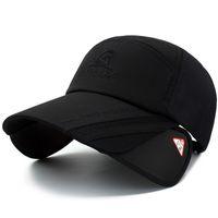 Регулируемый Спорт на открытом воздухе выдвижной козырек крышка Рыбалка солнцезащитный козырек шляпа Спорт Бейсбол рыбаков специальное ведро шляпа с буквой крышка