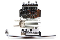 Chrome Vintage-Floyd Rose Lic E-Gitarren-Tremolo-Brücke Doppel Locking-Montagesystem Freies Verschiffen Whole