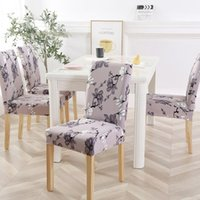 Urijk Spandex Chair Cover Stretch Elastic Dining for Banquet...