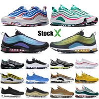 Novos 2019 Mens sapatos 97OG Throwback Futuro Neon Seoul Triplo Preto Lobo Cinzento Branco South Beach Designer Shoes Sneakers Schuhe 36-45