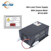 Will Fan MYJG80W 80W Laser Co2 alimentation avec ampèremètre Pour Gravée au laser Cutter machine 80W Laser Box Pièces