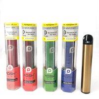 최고 품질 일회용 장치 키트 POSH PLUS Vape 펜 500 퍼프 채워져 포드 카트리지 Ecigs 증기 스타터 키트 Disposables를