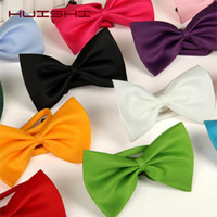 HUISHI 50 100 pcs lot 8 Color Wholesale Pet Bow Tie Grooming...
