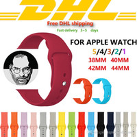 Free DHL Apple strap Silicone Sport Band For Iwatch series 3...