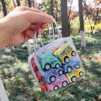 Landzo Hot 6pcs Jouets d'enfants Pull Back Car Set Mini voiture Jouets pour enfants cadeau pour les garçons filles