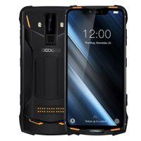 "Doogee S90C 4GB 64GB الهاتف الخليوي الوجه إفتح بصمة 6.18 ""وتغ NFC لاسلكي شحن الروبوت 9.0 الهاتف الذكي 5050mAh"