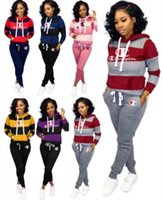 womens tracksuit long sleeve outfits shirt pants two piece s...