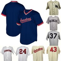 Washington Senators Game Worn Coaches Jersey 100% Genäht Washington Senators Benutzerdefinierte Baseball Jerseys Jede Name Anzahl Freies Verschiffen