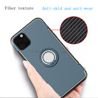 For iPhone 11 Case iphone X XS XR invisible finger ring brac...