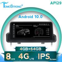 TOMOSTRONG AHD 1280X480 Android 10 IPS schermo lettore dvd dell'autoradio per 3 serise E90 E91 E92 E93 WIFI 4G LTE DVR IDRIVE SWC dvd